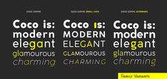 Coco Gothic - NEW: 2 FREE WEIGHTS on Behance