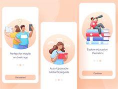 Ui Kit, Free Android Wallpaper, Web Design, Flat Design, Graphic Design, App Design Inspiration, Educational Programs, Brand Guidelines, Game App
