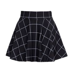 BLACK GRID SKIRT sold by Foreveronline. Shop more products from Foreveronline on Storenvy, the home of independent small businesses all over the world. Edgy Outfits, Mode Outfits, Grunge Outfits, Cute Casual Outfits, Summer Outfits, Fashion Outfits, Cute Skirts, Short Skirts, Mini Skirts