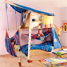 baby boy room HABA- this is pretty cool!