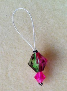 How to Make Snag Free Knitting Stitch Markers