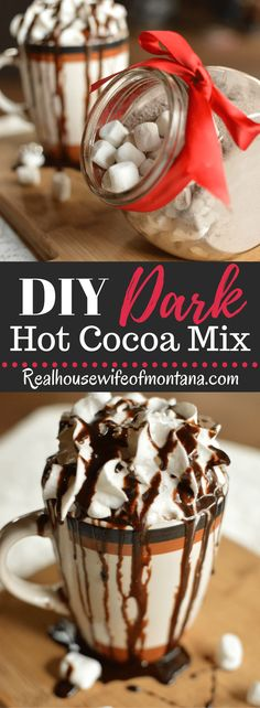 Dark Hot Cocoa Mix -