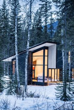 The Best Places to Go for a Winter Getaway, and the Beautiful Winter Vacation Homes to Rent When You Get There: (http://dujour.com/gallery/best-winter-airbnb-home-rentals/#slide-19)