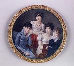 Portrait de famille 1810