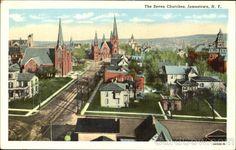Jamestown, Seven Churches