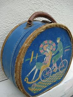 Art Deco 1920s suitcase