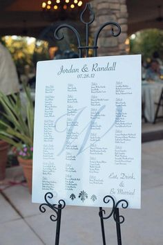 Custom wedding seating chart by lemondropweddingshop on Etsy