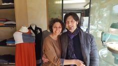 Sabrina e Giuseppe raccontano con #amore l'unicità delle #maglie firmate #SabrieLory. #qualità #madeinitaly #madeinpiacenza #colori #cashmere #PARMACOUTURE #weareparmacouture