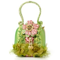 "Mary Frances Handbag - ""Grasshopper"" Interestingly, the site where I found this picture called this ""The fugliest bag ever"" and ""the designer should be shot""! Hmm I kinda like it - each to their own I guess."