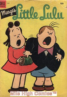 MARGE'S LITTLE LULU (1945 Series)  (DELL) #71 Good Comics Book