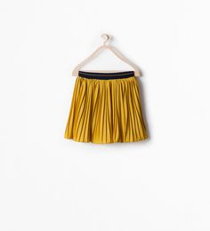 Image 1 of PLEATED SKIRT WITH ELASTIC WAIST from Zara