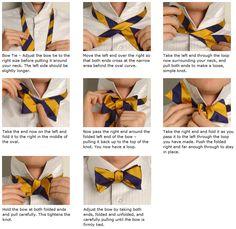 eight essential tie knots