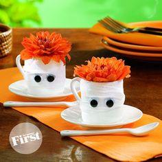 Ideas de decoración para Halloween / Idéias de decoração para Halloween