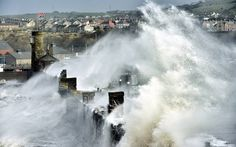 Dated: 05/12/2013Huge waves engulf Whitehaven harbour in Cumbria this morning (Thurs), as gale force winds cause havoc throughout the countr...