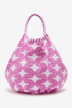 Roberta Roller Rabbit's Nika block print Bondi Beach Bag borrows ...