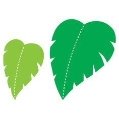 Jungle Leaf Outline