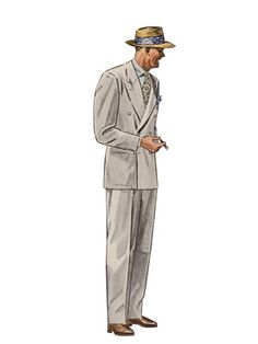 History of Mens Fashion - Mens Style from the 1930s to 2008 - Esquire
