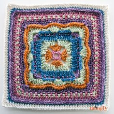 Block #5 in the 2016 Moogly Afghan CAL! Gorgeous free crochet pattern from Oombawka Design!