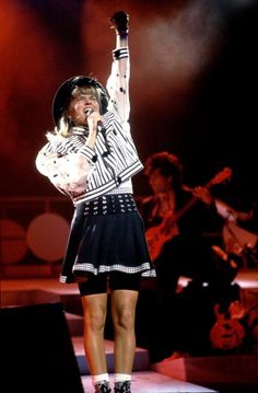 Debbie Gibson on 8/23/88 in Chicago Il