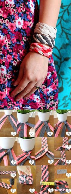 mooie armbandjes om zelf te maken!