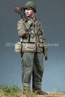 WW2 BAR Gunner in 1/35 scale, now in stock! Click on the picture for more details
