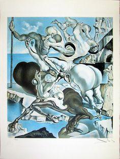 "Salvador Dalí: ""Familia de Centauros"" 102/300 - Subasta Real"