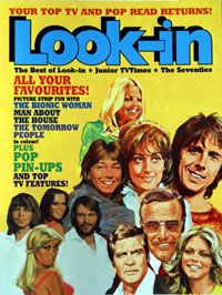 Look in - oh look, there's David Cassidy. My heart throb before I fell for Lewis Collins of The Professionals.