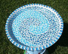 Mosaic Patterns for Beginners | Bird Bath #2 Bird Bath 2 Top – CKC Creative