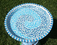Mosaic Patterns for Beginners | Bird Bath #2 Bird Bath 2 Top – CKC Creative