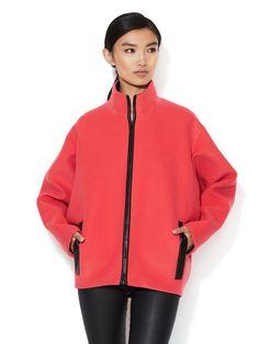 Wool Neoprene Structured Jacket