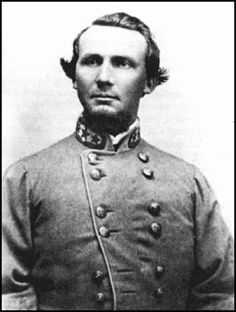 Confederate Brigadier General States Rights Gist The Yankees killed this fellow with my Great Great Great Grandpa Lemuel C. Dill at Franklin TN.