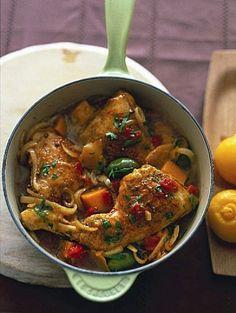 Recept Stoofschotel van Marokkaanse kip   ELLE Eten