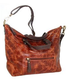a4f6ec296ff5 Cognac Kate Convertible Leather Tote by Nino Bossi Handbags