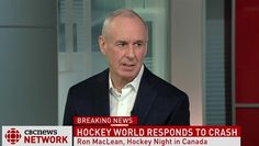 Ron MacLean reacts to Humboldt Broncos tragedy - CBC Player Hockey World, Hockey Stuff, Broncos, Dates, Pride, Strength, Canada, Events, Memories