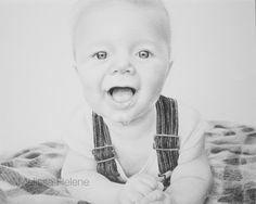 Little K | Melissa Helene 8x10 graphite portrait www.melissahelene.com