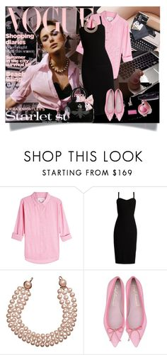 """""""Spring is coming!"""" by barbara-gennari ❤ liked on Polyvore featuring Velvet, MaxMara, Chanel and My Flat In London"""