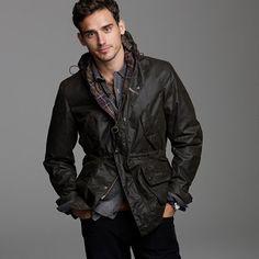 Barbour® Derwent jacket by JCrew $399.00