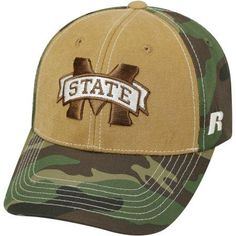 NCAA University of Mississippi State Bulldogs Mossy Baseball Hat \ Cap