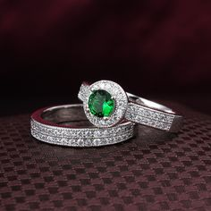 Two rings can be separated ring Silver 4 colors stone option (Sapphire Ruby Emerald and colorles) fashion jewelry ALW1788 US $109.90