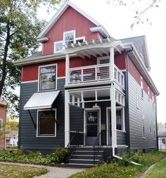 Absolutely Gorgeous Remodel! -James Hardie Fiber Cement Siding in Iron Grey