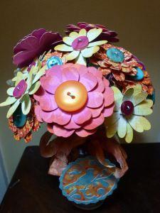 A Cheery Bouquet | paper, craft & scissors