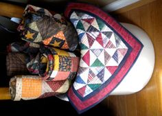 with quilts!