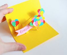 Great ideas for handmade greeting cards.