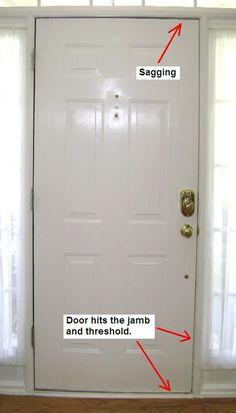 How To Repair Fix A Kicked In Split Cracked Door Jamb