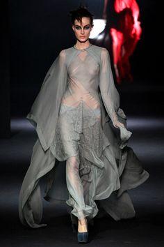 <3 John Galliano Fall Winter 2012-13, Paris Fashion Week. #runway #fashionweek #fall2012 #sheer