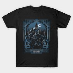 The Knight T-Shirt - Batman T-Shirt is $14 today at TeePublic! Batman T Shirt, Cool T Shirts, Dc Comics, Knight, Batman Stuff, Mens Tops, Things To Sell, Fashion, Moda