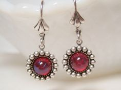 Mexican Opal Dragon's Breath Earrings by dfoxjewelrydesigns