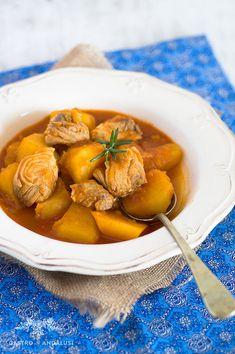 Marmitako de bonito del norte Spanish food
