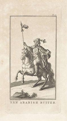 Izaak Jansz. de Wit | Arabische ruiter, Izaak Jansz. de Wit, 1754 - 1809 | Rechtboven: bl. 10.