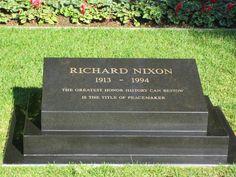 #1015:  Richard Nixon Birthplace, Yorba Linda (Burial place near the house)